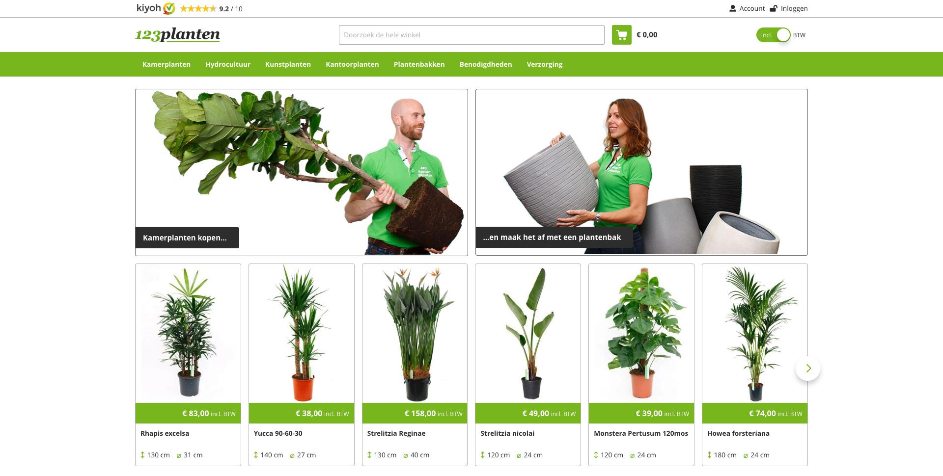 Webshop 123planten.nl