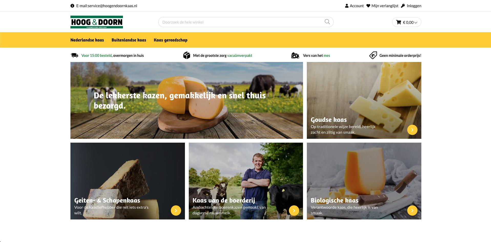 Homepage hoogendoornkaas.nl